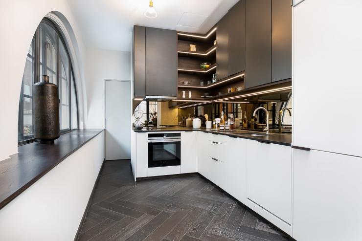 Lovelydays luxury service apartment rental - London - Soho - Berwick Street I - Lovelysuite - 3 bedrooms - 3 bathrooms - Luxury kitchen - Open kitchen - five star apartment london - 486c1ba739e2 - Lovelydays
