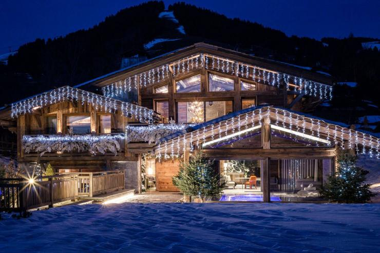 Lovelydays luxury service apartment rental - Megève - Senses Chalet - Partner - 6 bedrooms - 6 bathrooms - Exterior - 6a88774c1b29 - Lovelydays