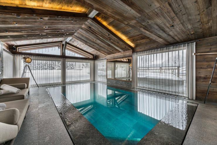 Lovelydays luxury service apartment rental - Megève - Senses Chalet - Partner - 6 bedrooms - 6 bathrooms - Inside pool - b50f66d1b834 - Lovelydays
