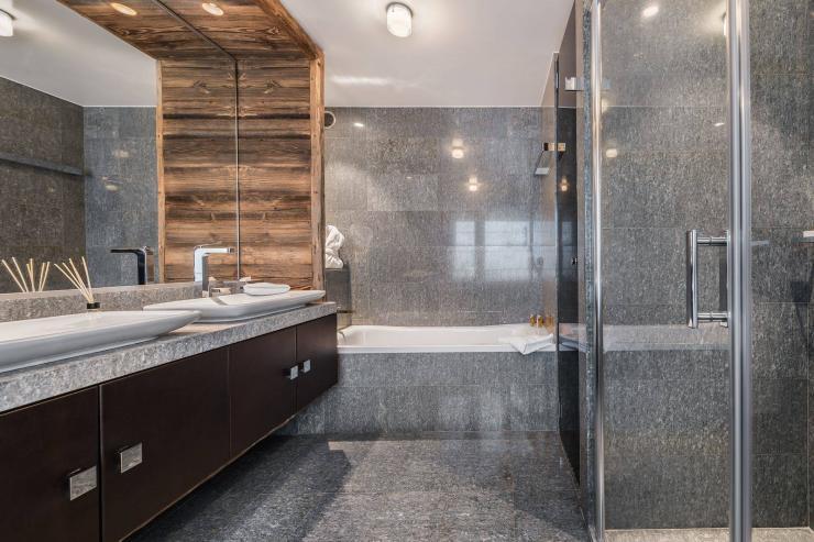 Lovelydays luxury service apartment rental - Megève - Senses Chalet - Partner - 6 bedrooms - 6 bathrooms - Beautiful bathtub - 8b168df12aa9 - Lovelydays