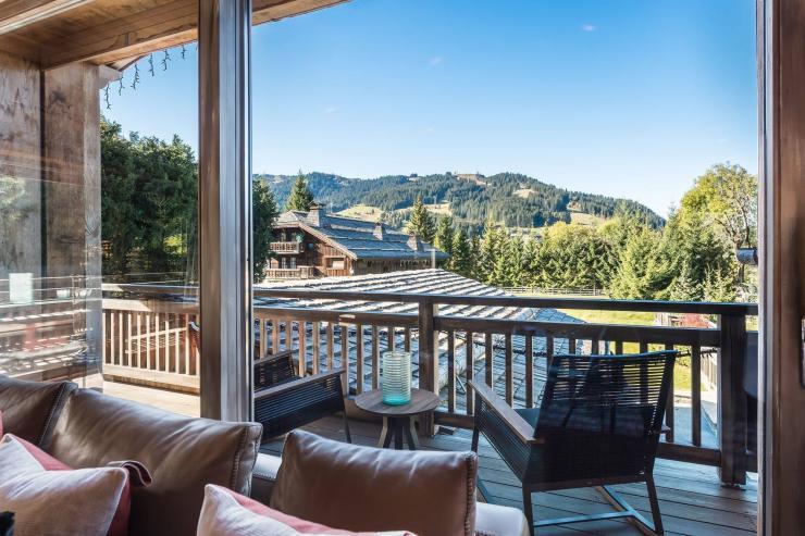 Lovelydays luxury service apartment rental - Megève - Senses Chalet - Partner - 6 bedrooms - 6 bathrooms - Balcony with view - 092068528040 - Lovelydays