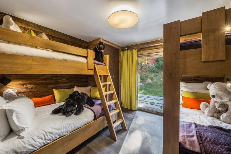 Lovelydays luxury service apartment rental - Megève - Senses Chalet - Partner - 6 bedrooms - 6 bathrooms - Single bed - 57501b531f9d - Lovelydays