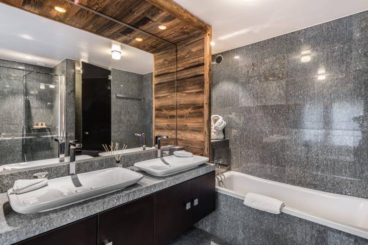 Lovelydays luxury service apartment rental - Megève - Senses Chalet - Partner - 6 bedrooms - 6 bathrooms - Beautiful bathtub - d3c58cf62af7 - Lovelydays