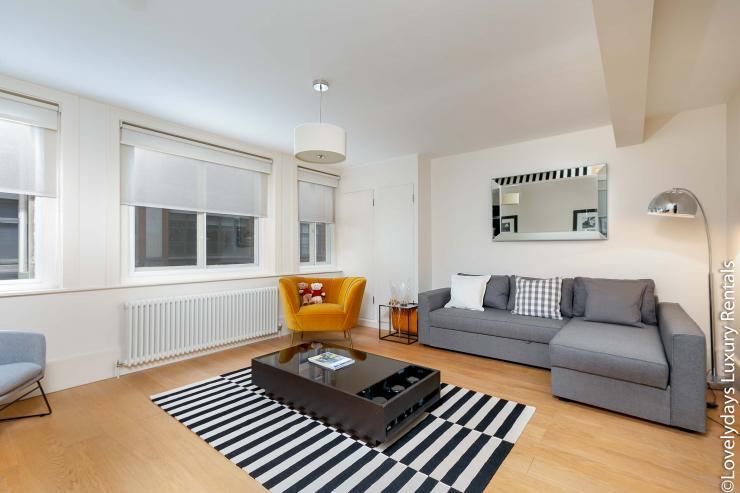 Lovelydays luxury service apartment rental - London - Soho - D'Arblay Street - Lovelysuite - 1 bedrooms - 1 bathrooms - Professional kitchen - 4a55eff20817 - Lovelydays