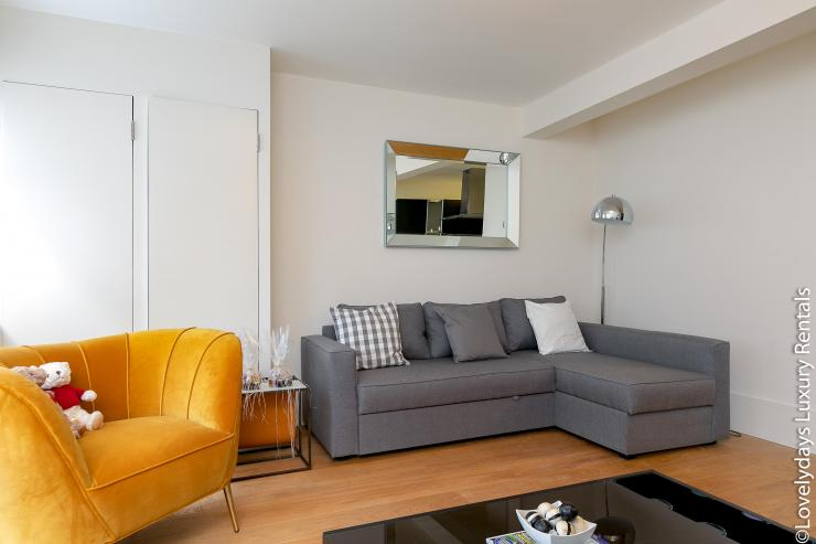 Lovelydays luxury service apartment rental - London - Soho - D'Arblay Street - Lovelysuite - 1 bedrooms - 1 bathrooms - Professional kitchen - 76343b7ffbf4 - Lovelydays