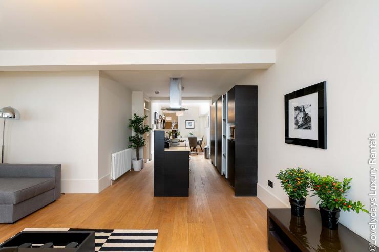 Lovelydays luxury service apartment rental - London - Soho - D'Arblay Street - Lovelysuite - 1 bedrooms - 1 bathrooms - Modern kitchen - b68df1758d6d - Lovelydays