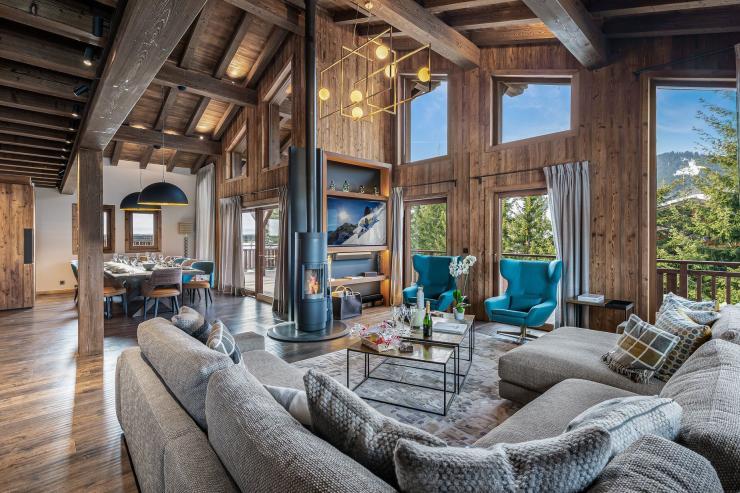 Lovelydays luxury service apartment rental - London - the Alps - Deity Chalet - Partner - 5 bedrooms - 5 bathrooms - Luxury living room - ada0979cce4b - Lovelydays