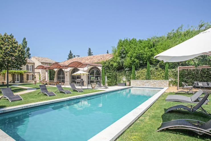 Lovelydays luxury service apartment rental - St Rémy de Provence and surroundings - Ameu Mas - Partner - 6 bedrooms - 6 bathrooms - Outside swimming pool - 894318d88a39 - Lovelydays