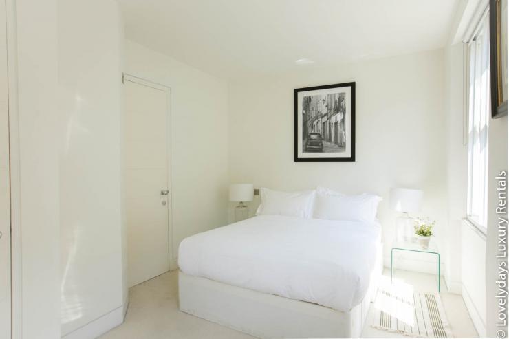 Lovelydays luxury service apartment rental - London - Fitzrovia - Foley Street - Lovelysuite - 2 bedrooms - 2 bathrooms - Double bed - eeca9af4ac6f - Lovelydays