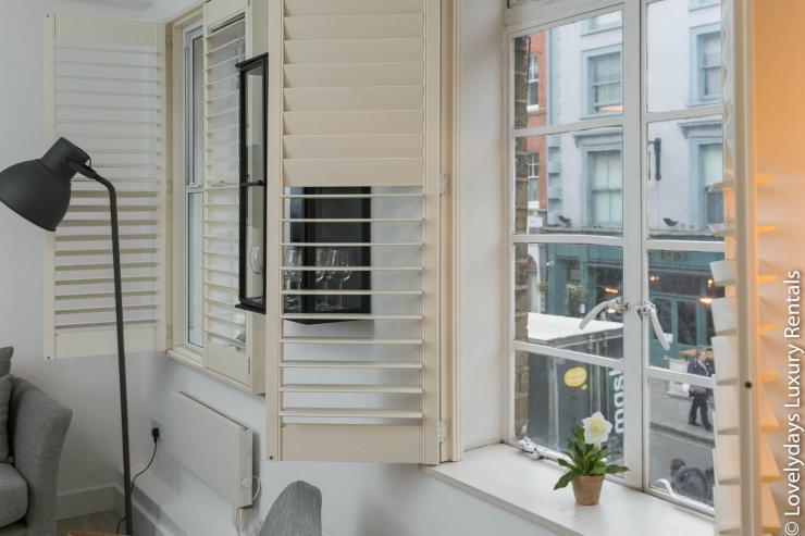 Lovelydays luxury service apartment rental - London - Fitzrovia - Goodge 55 - Lovelysuite - 2 bedrooms - 3 bathrooms - Lovely view - 76466b85969a - Lovelydays