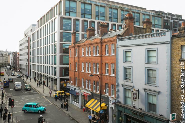 Lovelydays luxury service apartment rental - London - Fitzrovia - Goodge 55 - Lovelysuite - 2 bedrooms - 3 bathrooms - Hallway - 3a2f6a834b9a - Lovelydays