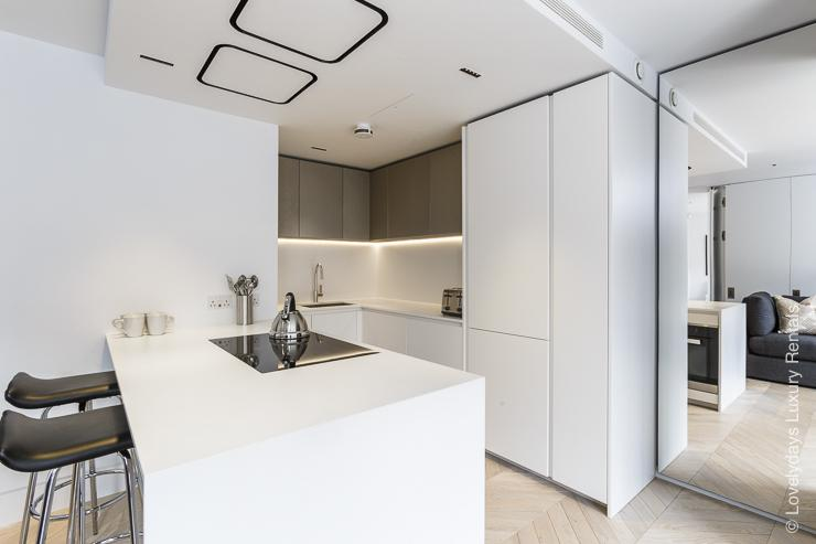 Lovelydays luxury service apartment rental - London - Fitzrovia - Goodge street III - Lovelysuite - 3 bedrooms - 2 bathrooms - Luxury kitchen - book apartments in london - 743cdd76df69 - Lovelydays