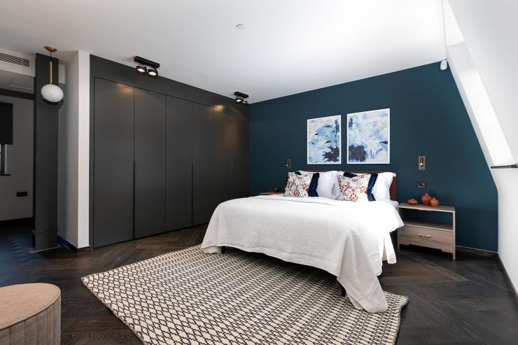 Lovelydays luxury service apartment rental - London - Soho - Great Marlborough St VIII - Lovelysuite - 3 bedrooms - 3 bathrooms - Queen bed - 5 star serviced apartments in london - 846aca2a0aba - Lovelydays