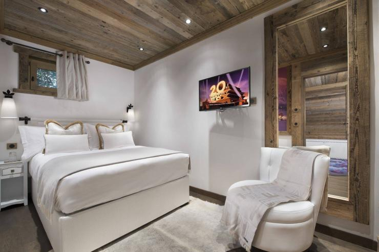 Lovelydays luxury service apartment rental - Courchevel - Great Roc Chalet - Partner - 7 bedrooms - 6 bathrooms - Queen bed - f9fce5f8798a - Lovelydays