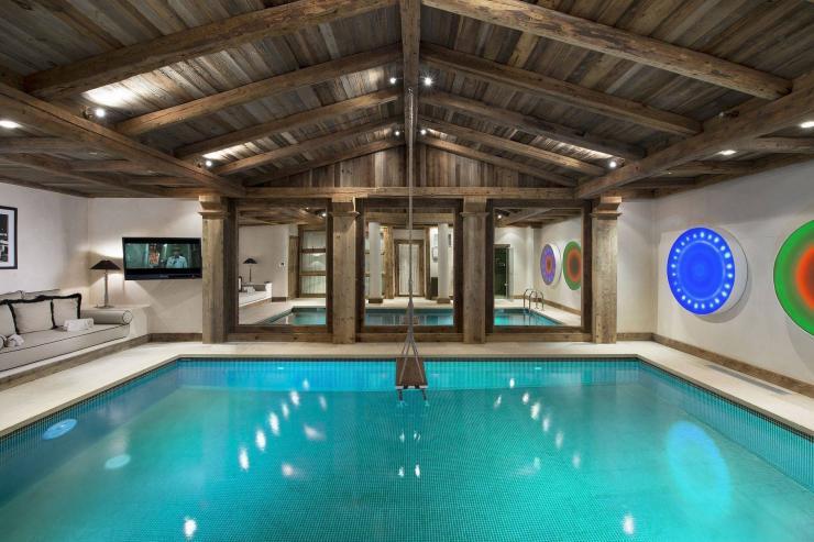 Lovelydays luxury service apartment rental - Courchevel - Great Roc Chalet - Partner - 7 bedrooms - 6 bathrooms - Inside pool - 2fa3d9fc99e6 - Lovelydays