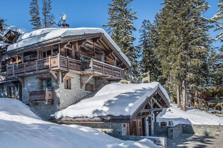 Lovelydays luxury service apartment rental - Courchevel - Great Roc Chalet - Partner - 7 bedrooms - 6 bathrooms - Exterior - c9fa56c0d652 - Lovelydays