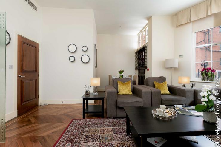 Lovelydays luxury service apartment rental - London - Knightsbridge - Hans Crescent - Partner - 2 bedrooms - 2 bathrooms - Luxury kitchen - dad0bdc123d7 - Lovelydays