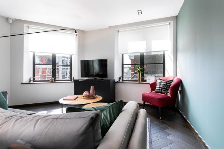 Lovelydays luxury service apartment rental - London - Soho - Noel Street VI - Lovelysuite - 2 bedrooms - 2 bathrooms - Luxury living room - luxury apartment in london - 675a10da4670 - Lovelydays