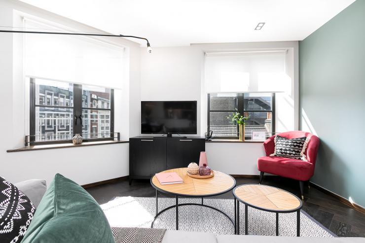 Lovelydays luxury service apartment rental - London - Soho - Noel Street VI - Lovelysuite - 2 bedrooms - 2 bathrooms - Luxury living room - luxury apartment in london - d6d96fb35682 - Lovelydays