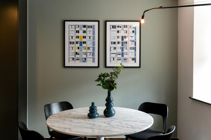 Lovelydays luxury service apartment rental - London - Soho - Oxford Street V - Lovelysuite - 1 bedrooms - 1 bathrooms - Dining living room - book serviced apartments london - 47e73f918305 - Lovelydays