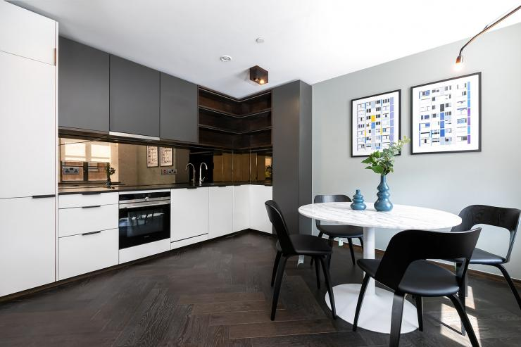 Lovelydays luxury service apartment rental - London - Soho - Oxford Street V - Lovelysuite - 1 bedrooms - 1 bathrooms - Luxury kitchen - book serviced apartments london - 78cc8dd12a5c - Lovelydays