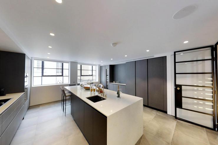 Lovelydays luxury service apartment rental - London - Soho - Royalty Mews I - Partner - 3 bedrooms - 2 bathrooms - Luxury kitchen - 520b4ad4214a - Lovelydays