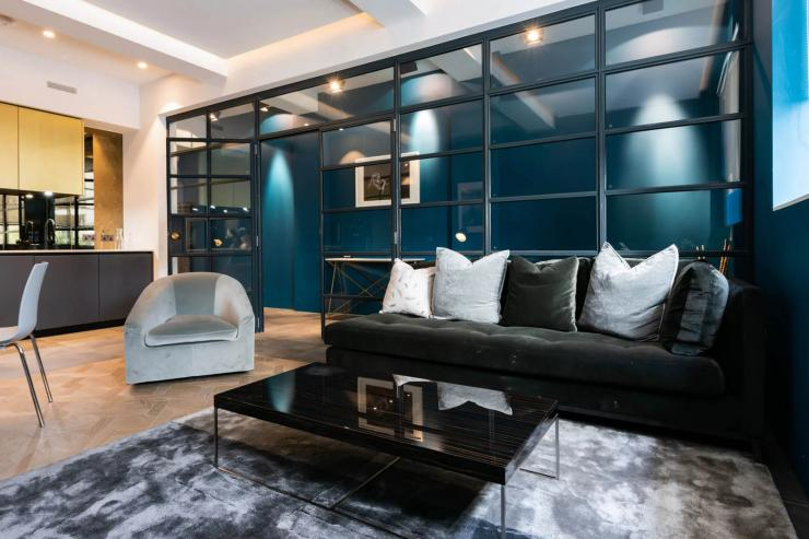 Lovelydays luxury service apartment rental - London - Soho - Royalty Mews III - Partner - 2 bedrooms - 2 bathrooms - Luxury living room - 50ebdb7af959 - Lovelydays