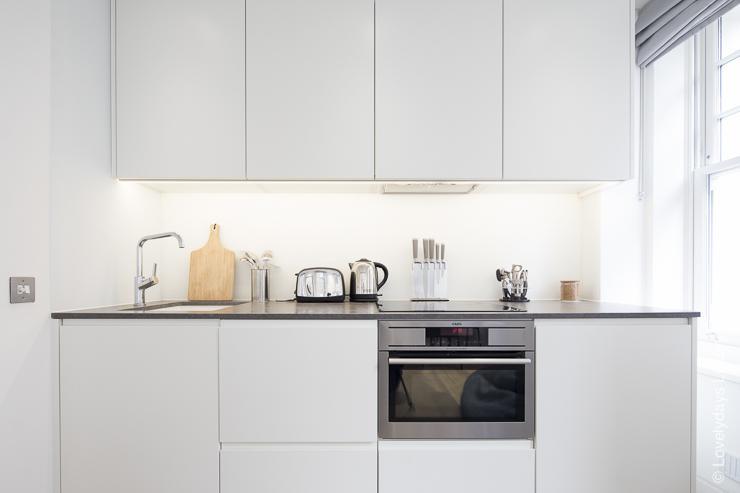 Lovelydays luxury service apartment rental - London - Soho - Romilly Street - Lovelysuite - 2 bedrooms - 2 bathrooms - Luxury kitchen - five star serviced apartments - 678a9a61a4c8 - Lovelydays
