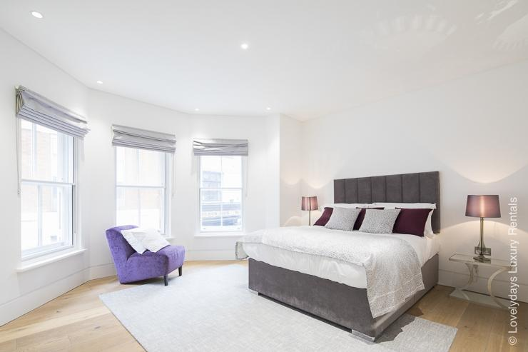 Lovelydays luxury service apartment rental - London - Soho - Romilly Street - Lovelysuite - 2 bedrooms - 2 bathrooms - King bed - five star serviced apartments - 62edf1d86b26 - Lovelydays